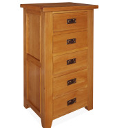 SHER-12 5 DRAWER WELLINGTON CHEST CLOSED-M1