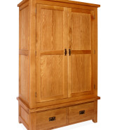 SHER-19 2 DOOR 2 DRAWER WARDROBE CLOSED-M1