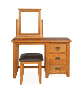 SHER-22 DRESSING TABLE SET WITH STOOL AND MIRROR-M1