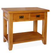 SHER-40 CONSOLE TABLE WITH 2 DRAWER CLOSED -M1