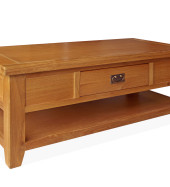 SHER-47 ONE DRAWER COFFEE TABLE CLOSED-M1