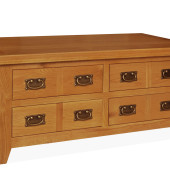 SHER-48 4 DRAWER COFFEE TABLE CLOSED M1