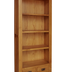 SHER-73 BOOKCASE 1,8M WITH 2 DRAWERS CLOSED-M1