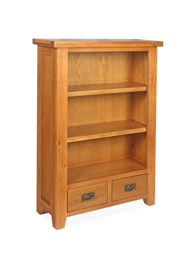 SHER-74 BOOKCASE 1,2M WITH 2 DRAWERS CLOSED-M1 ... - Canterbury 3 Tier Bookcase