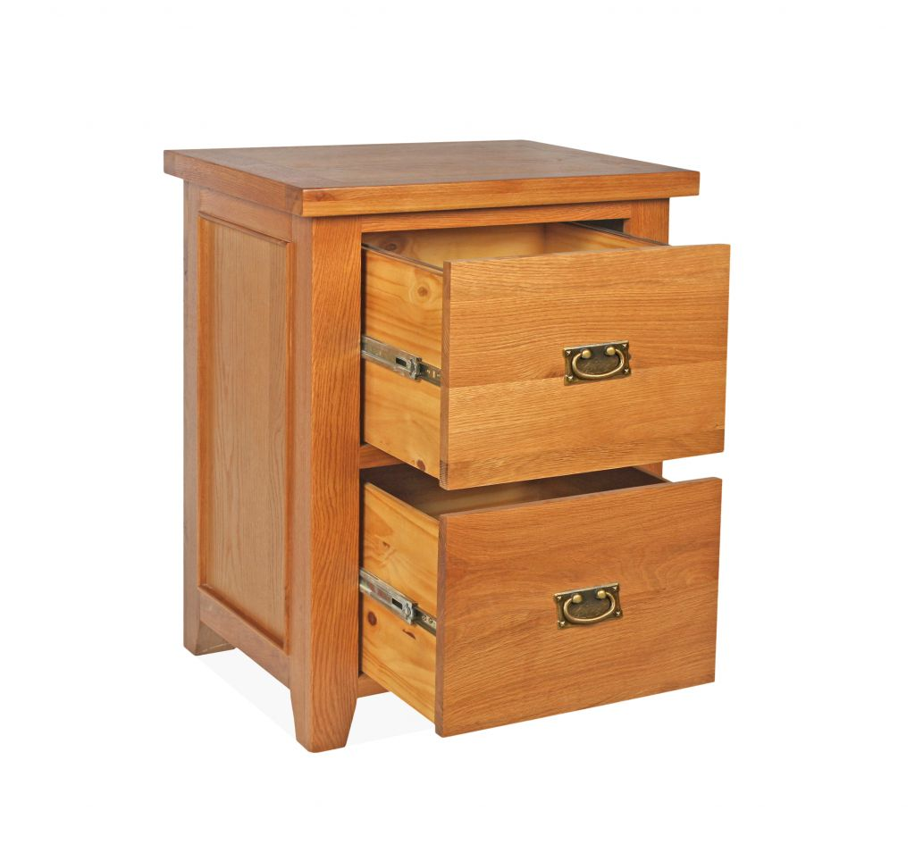 canterbury oak 2 drawer filing cabinet. Black Bedroom Furniture Sets. Home Design Ideas