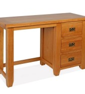 SHER-93 DRESSING TABLE WITH 3 DRAWERS CLOSED-M1